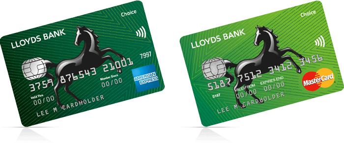 Reward credit cards lloyds choice rewards american express mastercard reheart Image collections