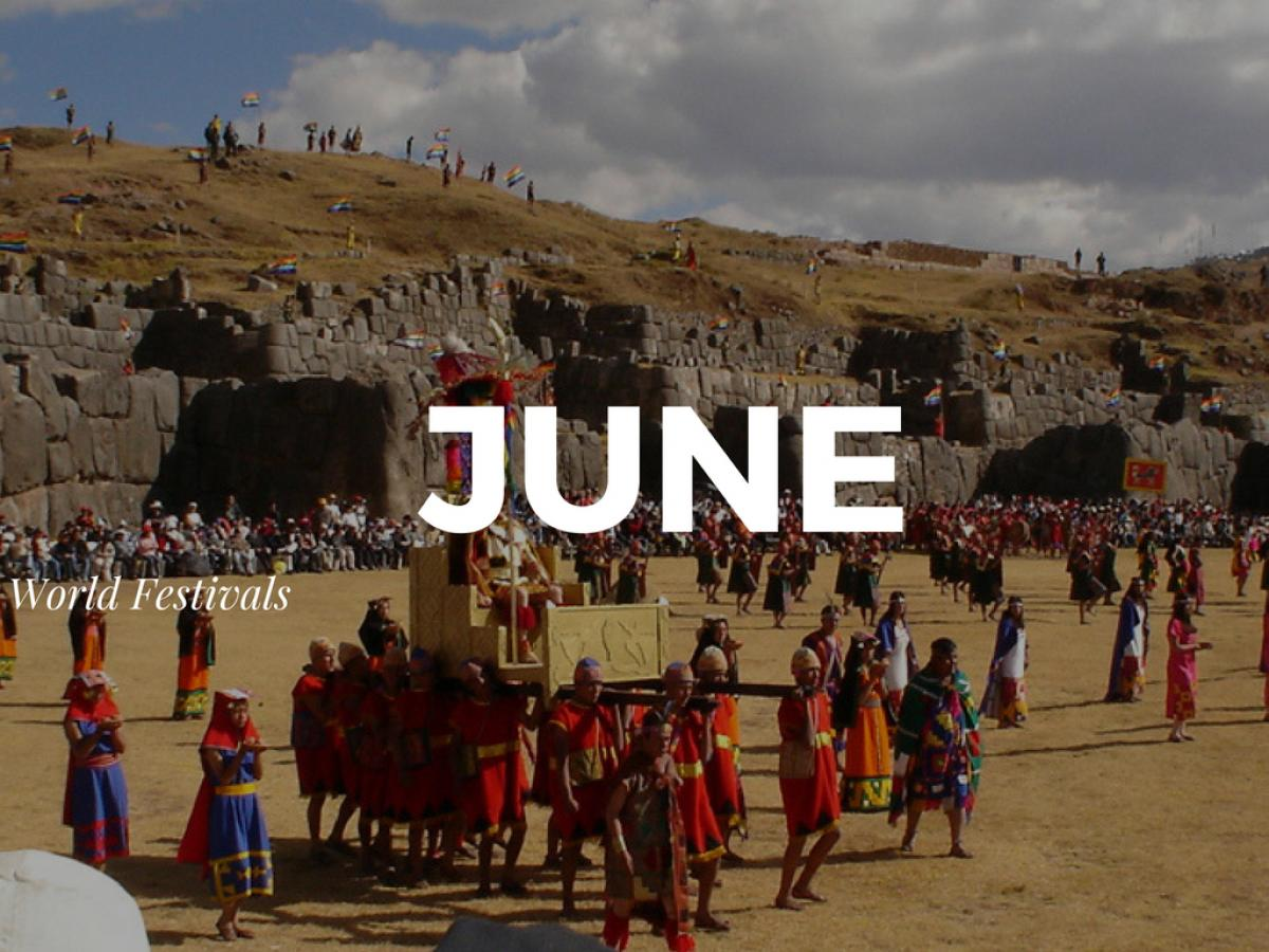 Top Festivals Around the World in June