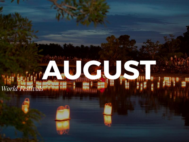 Top Festivals Around the World in August