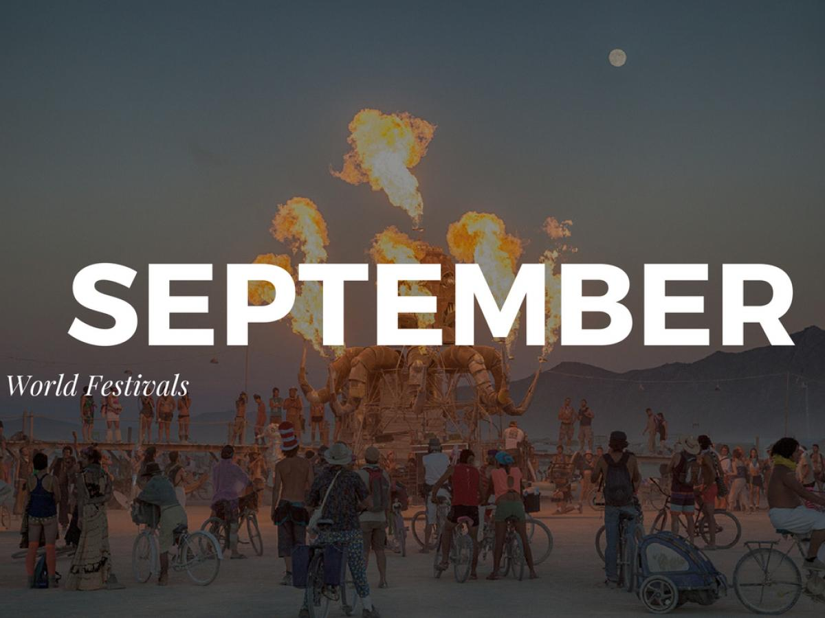 Top Festivals Around the World in September