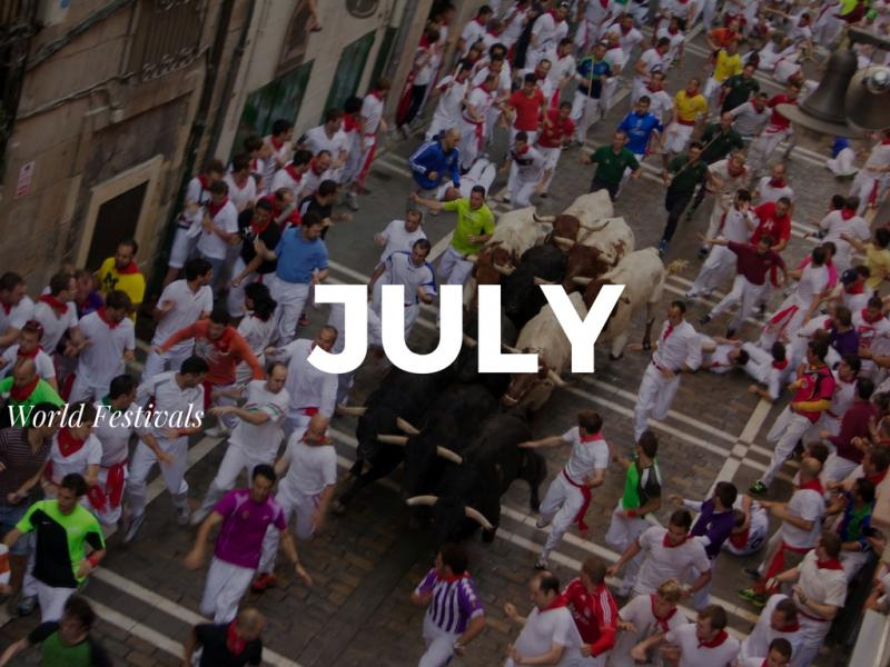 Top Festivals Around the World in July
